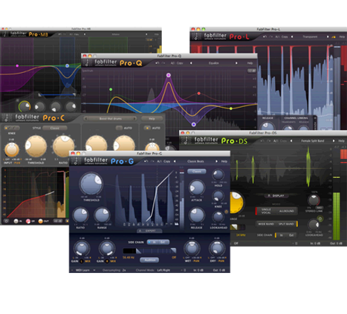 FabFilter Pro Bundle For Mixing and Mastering-Electronic Download