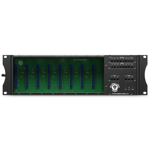BLACK LION AUDIO PBR-8 – 500 Series 8-Slot Rack with Built-in Patchbay