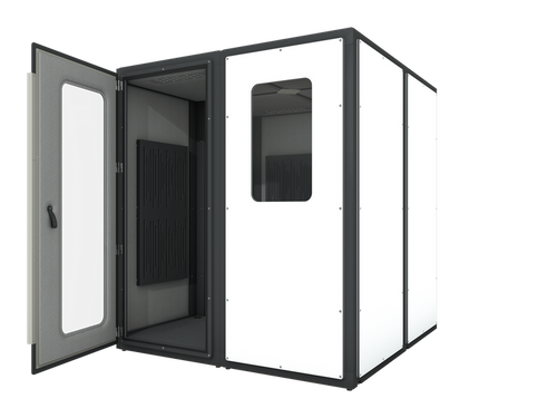 VICBOOTH ULTRA 2X2 WHITE RECORDING ROOM