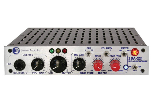 2BA-221 Mic and Line Preamp