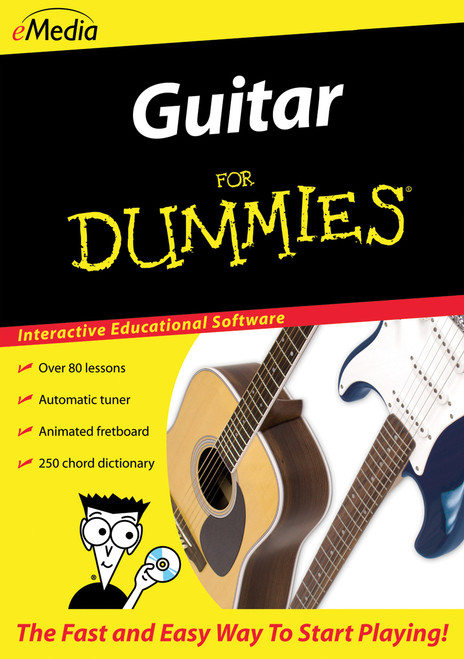 Guitar For Dummies Deluxe (Mac o PC)