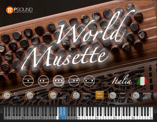 Sound World Musette Virtual Instrument (Electronic Download)