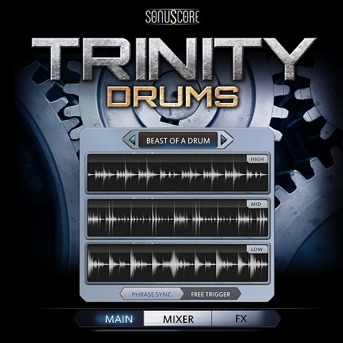 Trinity Drums (Electronic Download)