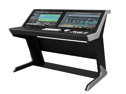 Slate RAVEN CORE Station Desk and 2 Slate Raven Mti2