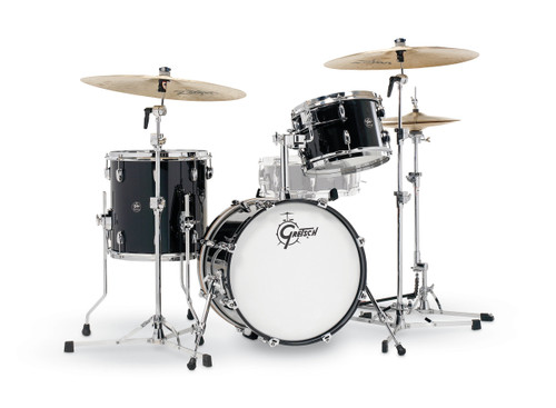 Gretsch Renown 3-Piece Drum Set (18/12/14) Piano Black
