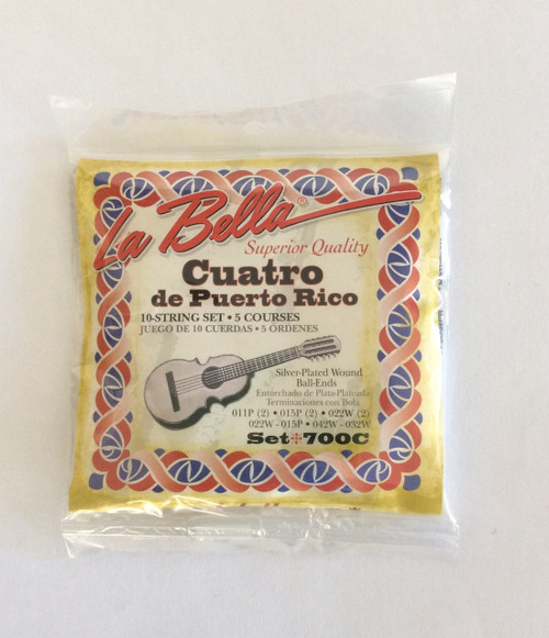 CUATRO DE PUERTO RICO SET STRINGS