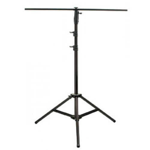 With the LTS-10B, you can hang up to 6 lighting effects up to a total of 100 lbs. This stand includes a 47.5 inch T-Bar and offers a 42 inch (leg to leg) base to stay steady and stable. The LTS-10B stands 10' tall but collapses for easy transport and weights only 20 lbs