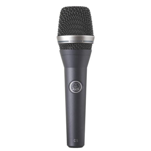 Condenser vocal microphone for onstage use