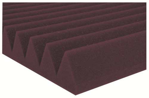 "2SF24BUR  2"" Studiofoam Wedges (12-pack, 2'x4'x2"", Burgundy)"