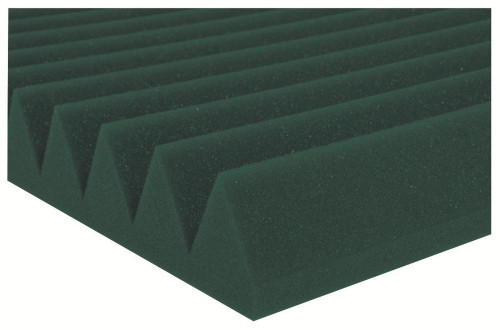 "2SF24FGR  2"" Studiofoam Wedges (12-pack, 2'x4'x2"", Forest Green)"
