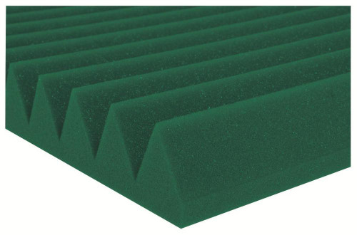 "2SF24GRE  2"" Studiofoam Wedges (12-pack, 2'x4'x2"", Kelly Green)"