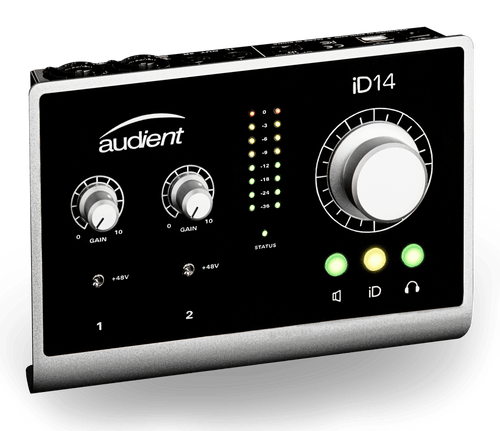 Audient iD14 10-In/4-Out Audio Interface