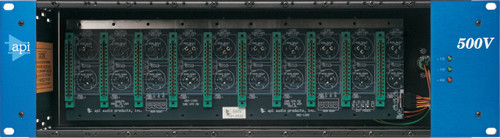 API 500VPR 10 slot Rack