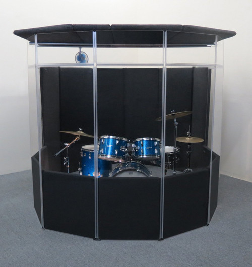 CLEARSONIC IsoPac A Drum Isolation Booth