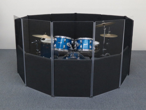Clearsonic IsoPac D Drum Isolation Booth