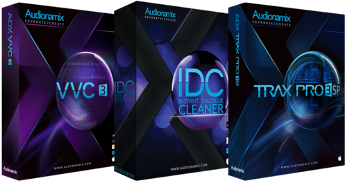 Audiodinamix. Professional Suite Bundle: ADX IDC + VVC + Trax Pro SP