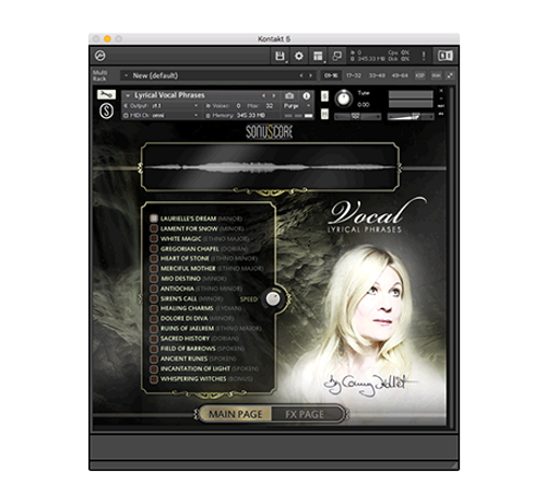 SonuScore Lyrical Vocal Phrases (Electronic Download)