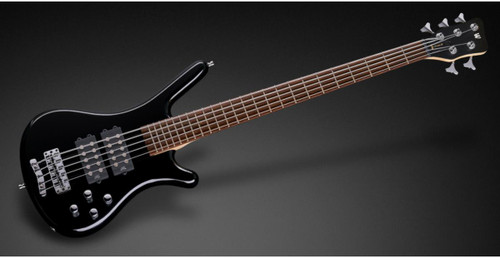 RockBass Corvette $$ 5 Strings Black Oil Updated