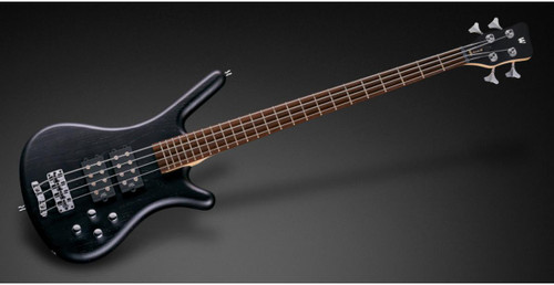 RockBass Corvette $$ 4 Strings Black Satin Now Includes Bag