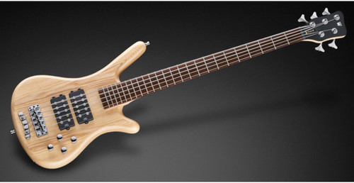 RockBass Corvette $$ 5 Strings Natural Satin Now Includes Bag