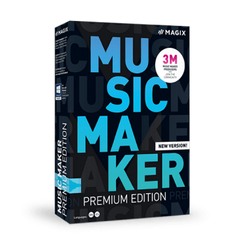 Music Maker 2021 Premium Edition (Electronic download)