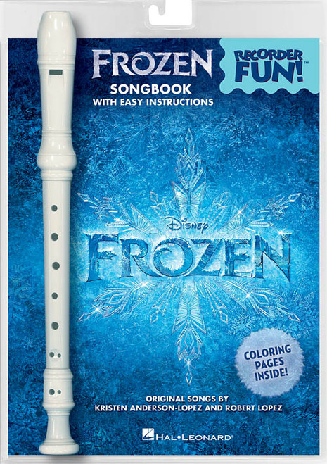 Frozen – Recorder Fun! Pack with Songbook and Instrument (Sweet Soprano Flute)