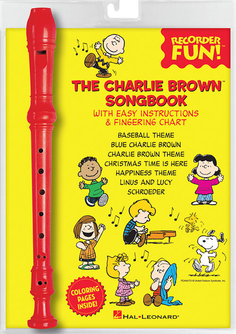 The Charlie Brown™ Songbook – Recorder Fun! (Sweet Soprano Flute)