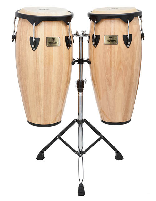 Supremo Series Natural 10″ and 11″ Congas