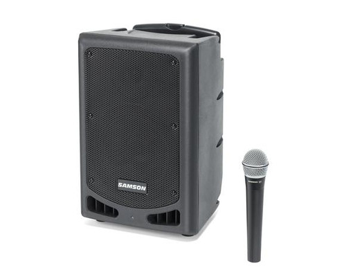 Expedition XP108w – Channel 7 Rechargeable 8″ 200-Watt Portable PA System with Handheld Wireless System and Bluetooth