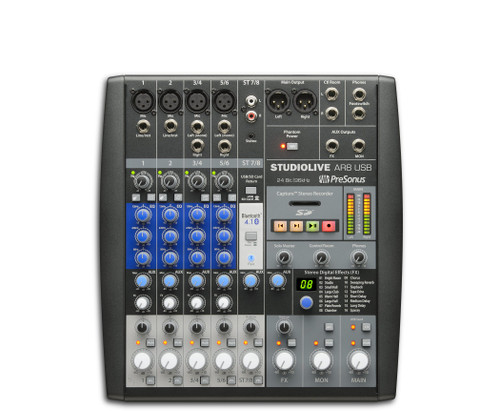 StudioLive AR8 USB 8-Channel Hybrid Performance and Recording Mixer