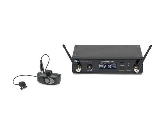 AirLine ATX Series – ALX Lavalier System Micro Transmitter UHF Wireless System with CR99 Receiver & LM8 Microphone – K Band