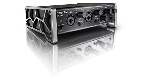 US-2x2 2-In/2-Out USB Audio/MIDI Interface with HDDA Mic Preamps & iOS Compatibility