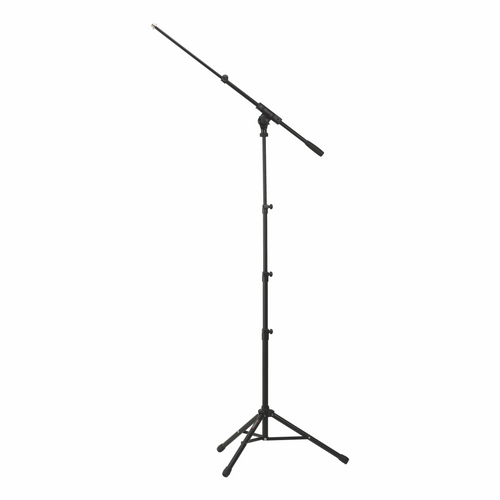 Mic Stand 2.0 with Telescoping Boom Arm and Carrying Case