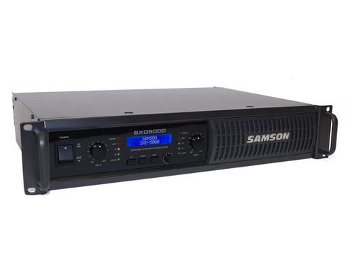 SXD5000 Power Amplifier with DSP