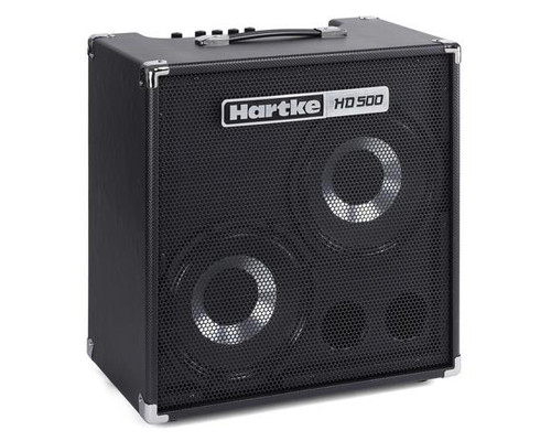 HD500 Bass Combo 2 x 10″ Drivers, 500 Watt Bass Amp