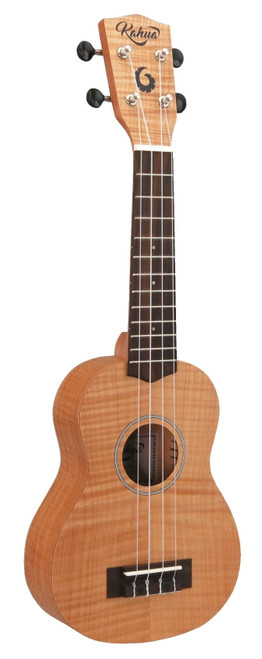 "21"" Soprano Flamed Maple Ukulele"
