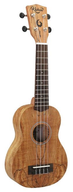 "21"" Soprano Spalted Maple Ukulele"