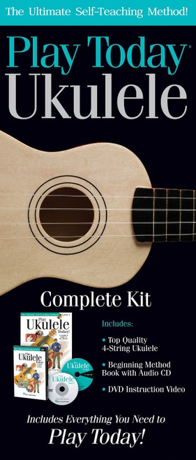 Play Ukulele Today! Complete Kit Includes Everything You Need to Play Today!