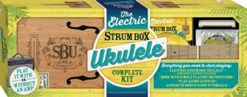 The Electric Strum Box Ukulele Complete Kit Includes Ukulele, Book, CD, and More!