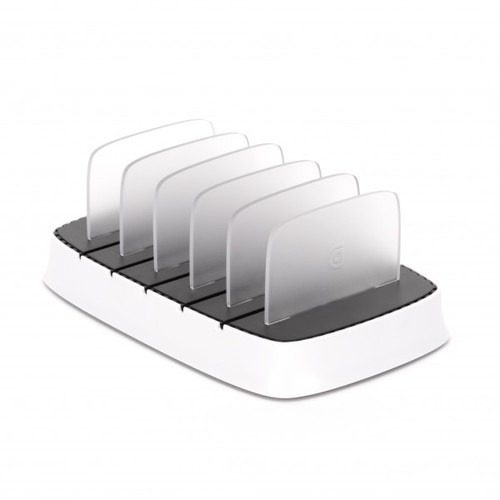 PowerDock 5 Charging Station for iOS Devices  White/Black
