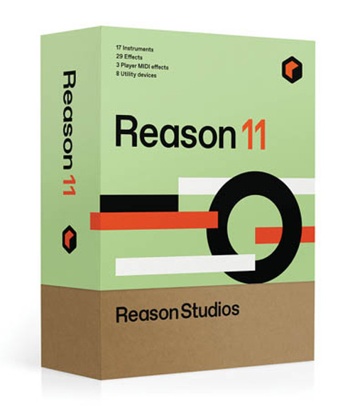 Reason 11 Upgrade to Reason 11 from Previous Full Editions (Boxed)