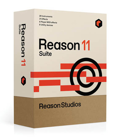 Reason 11 Suite Upgrade from Full Editions of Reason Boxed
