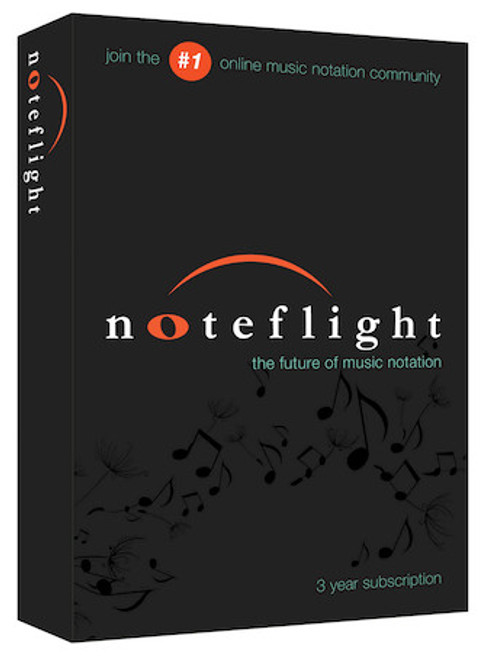 Noteflight® 3-Year Subscription (Retail Box)  For Composers and Arrangers