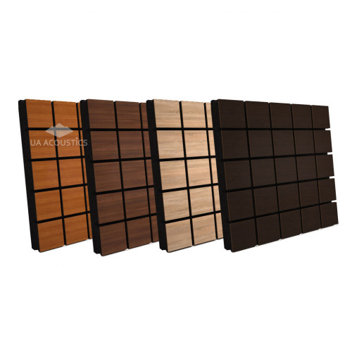 Sound Absorption-Diffuse Acoustic Panel «Grid»