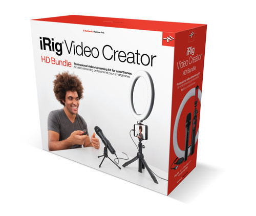 iRig Video Creator HD Bundle Creator Series Professional Video/Streaming Kit