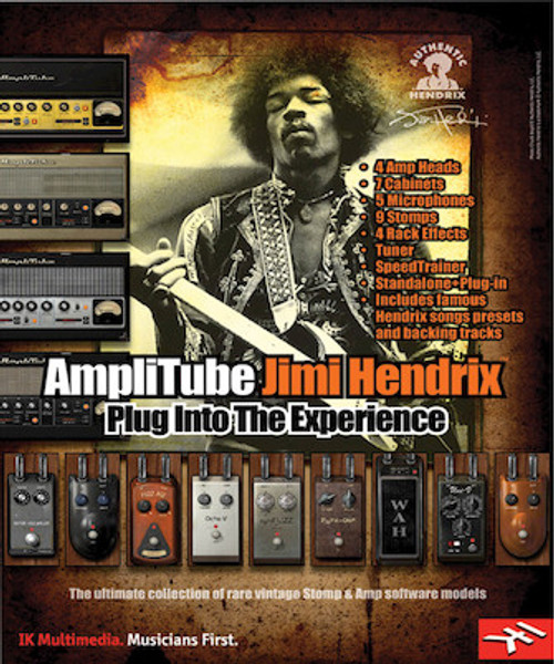 Amplitube Jimi Hendrix Ikm Download Only