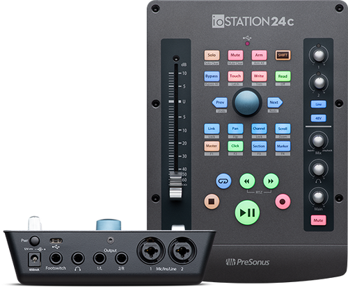 ioStation 24c Audio interface and Controller