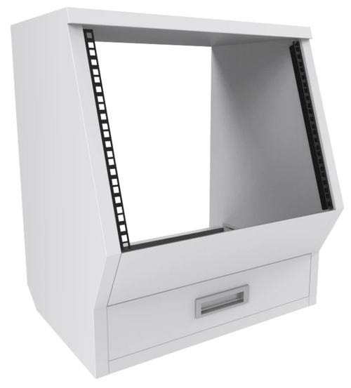 Floor Rack Cabinet White Enterprise Series (each)
