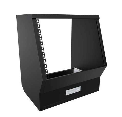 Floor Rack Cabinet Black Enterprise Series (each)
