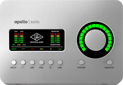 Apollo Solo USB Heritage Edition Audio Interface (Desktop/Win)